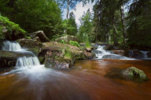 Wandern in unberührter Natur