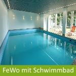 Ferienwohnung im Harz mit Schwimmbad
