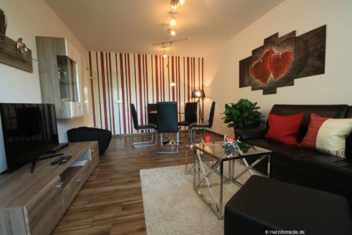 Wohn- /Essbereich - Harz-Suite 1