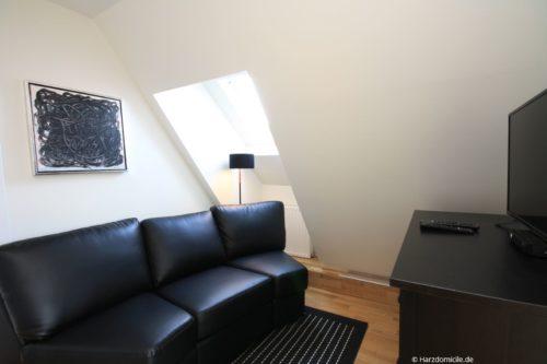 Sitzplatz im Flur Obergeschoss – Ferienwohnung Josephine