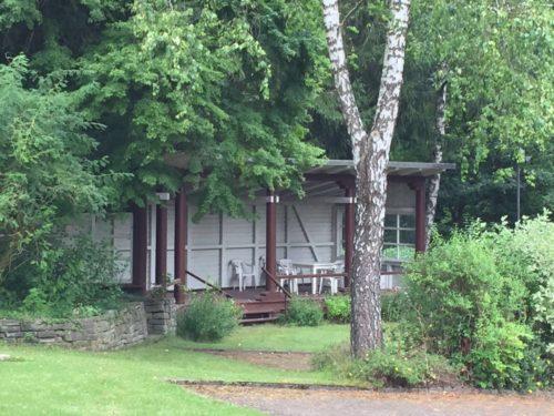 gemeinschaftlicher Garten – Ferienwohnung Waldblick
