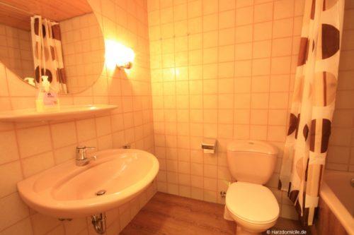 Badezimmer 2 – Ferienwohnung Waldblick