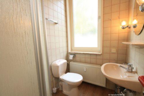 Badezimmer – Ferienwohnung Waldblick