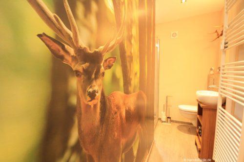 Badezimmer – Ferienwohnung Bergprinz
