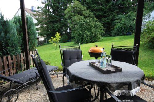 Terrasse – Ferienwohnung Bergprinz