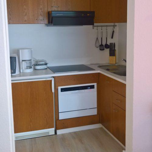 Wohn- /Essbereich mit offener Küche – Casa Rasa