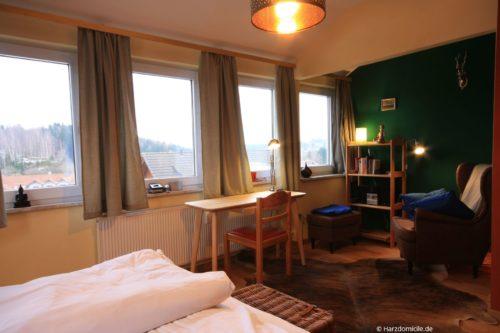 Schlafzimmer – Ferienwohnung Hexenparadies