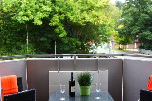 Balkon – Ferienwohnung Wurmbergstation