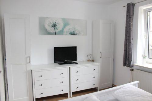 Schlafzimmer – Ferienwohnung Wurmbergstation
