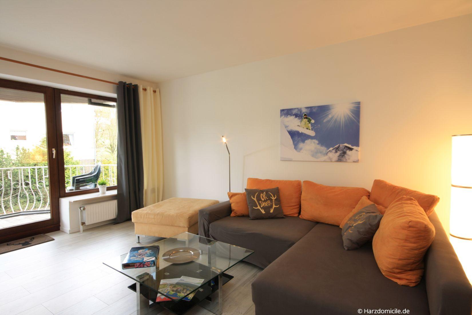 ferienwohnung am kurpark harz braunlage bei harzdomicile buchen. Black Bedroom Furniture Sets. Home Design Ideas