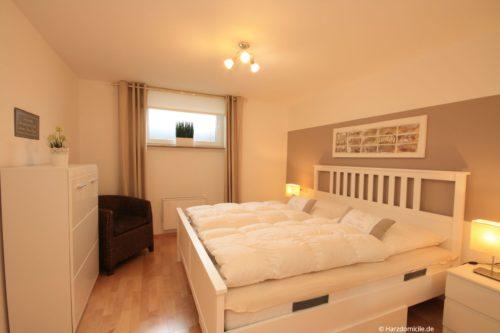 Schlafzimmer 1 – Ferienwohnung Zauberhexe