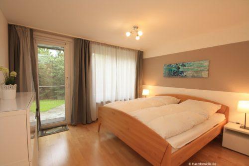 Schlafzimmer 2 – Ferienwohnung Zauberhexe