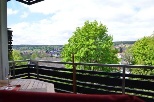 Traumhafter Blick über Braunlage – Harz-Suite 1