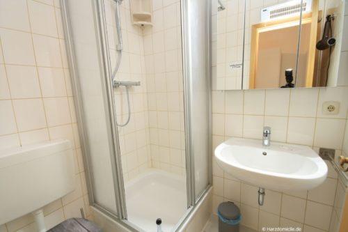 Badezimmer 2 – Ferienwohnung Hexenbaude