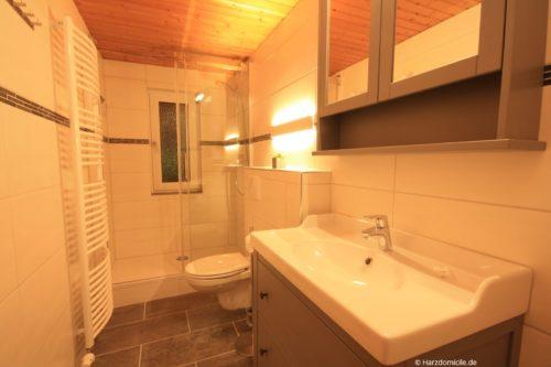 Badezimmer 1 – Ferienwohnung Hexenbaude