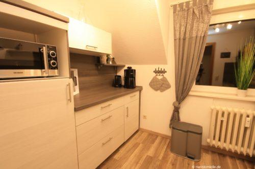 Küche – Ferienwohnung Hexenbaude