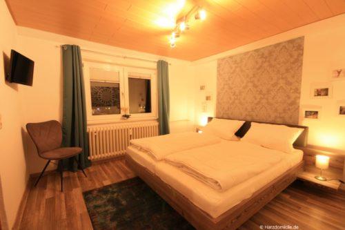 Schlafzimmer 1 – Ferienwohnung Hexenbaude