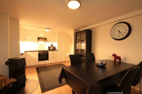 Küche mit Essplatz - Ferienhaus Alexander