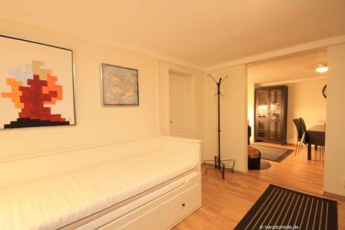 zweiter Wohn- /Schlafbereich (Durchgangszimmer) - Ferienhaus Alexander