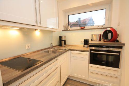 Küche – Harz-Suite 2