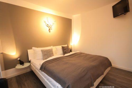 Schlafzimmer – Harz-Suite 2
