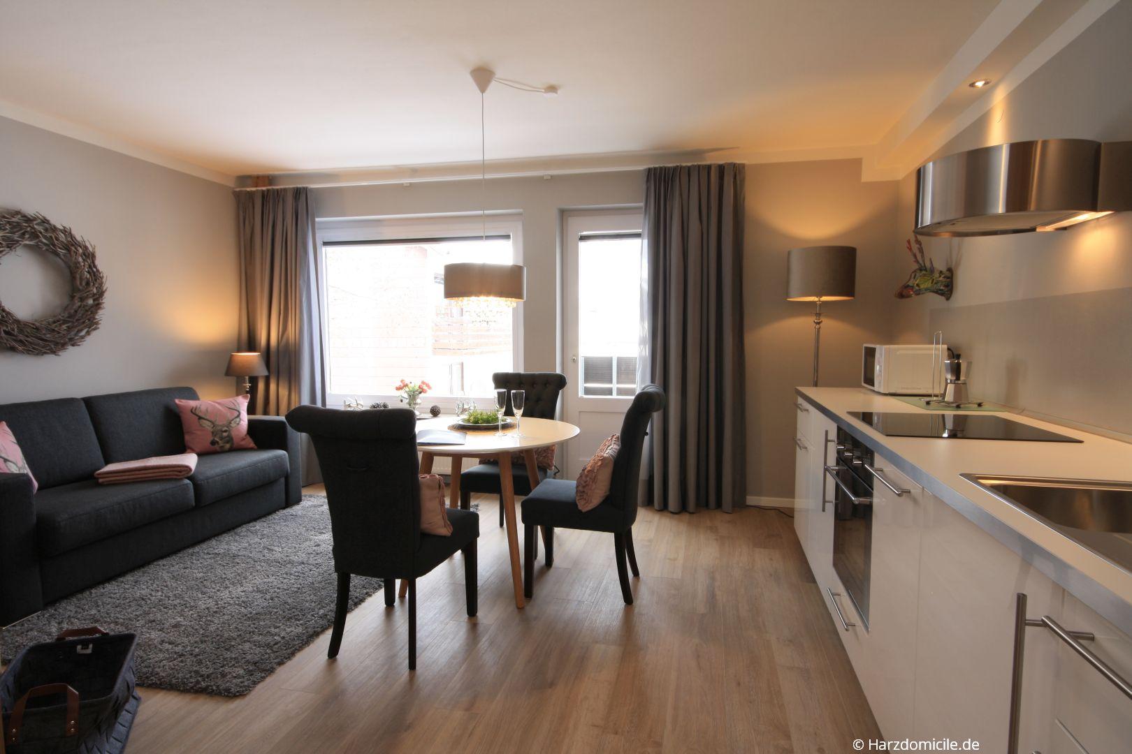 Offener Wohn Essbereich wohn essbereich mit offener küche ferienwohnung bergherzl