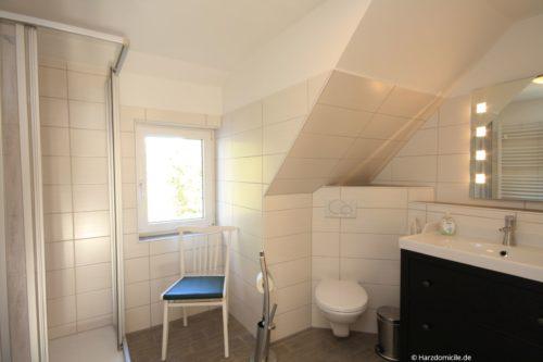 Badezimmer 2 - Ferienhaus Lauwenhaus