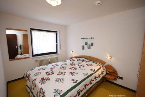 Schlafzimmer – Ferienwohnung Lauterbergerstraße