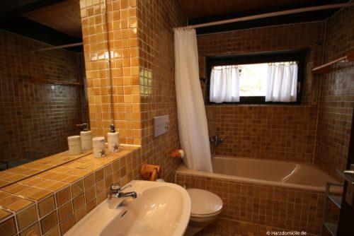 Badezimmer – Ferienwohnung Lauterbergerstraße