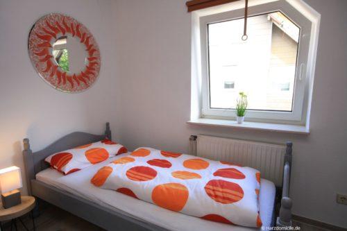 Schlafzimmer 1 – Ferienwohnung Zauberhirsch