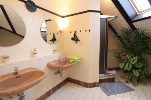Badezimmer 1 – Ferienwohnung Zauberhirsch