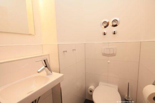 Gäste-WC - Ferienwohnung Carpe Diem