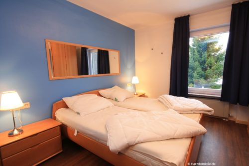 Schlafzimmer 1 - Ferienwohnung Carpe Diem