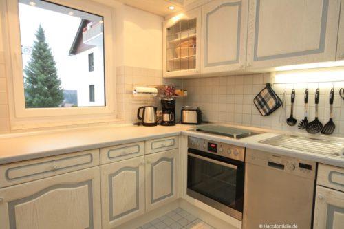 Küche - Ferienwohnung Carpe Diem
