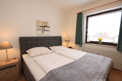 Schlafzimmer – Ferienwohnung Harzer Glück