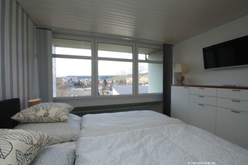 Schlafzimmer – Hütteberg-Suite