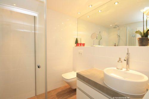 Badezimmer – Hütteberg-Suite