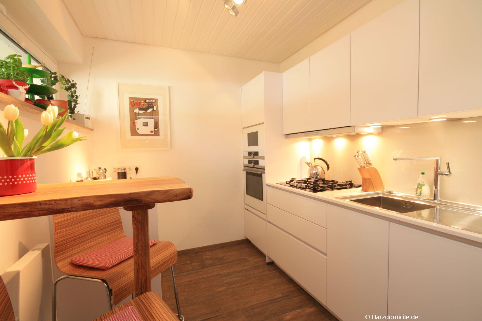 Küche – Hütteberg-Suite - Harzdomicile