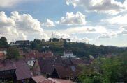 Blick auf den Glockenberg
