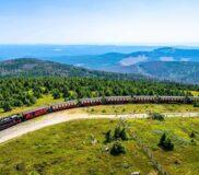 Brockenbahn der Harzer Schmalspurbahn – Bild unter Lizenz von Shutterstock.com