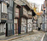 Goslar – historische Gebäude in der Altstadt – Bild unter Lizenz von Shutterstock.com