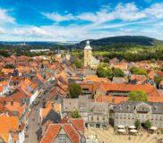 Goslar – Luftaufnahme von oben – Bild unter Lizenz von Shutterstock.com