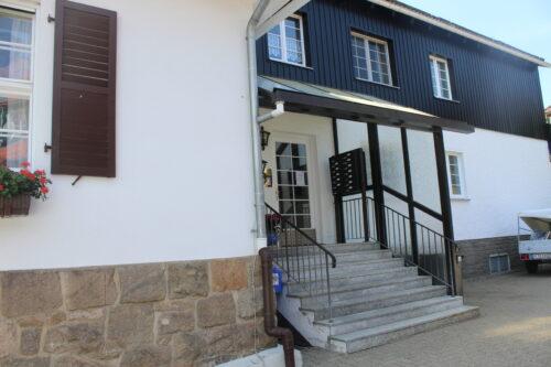 Eingangsbereich Ferienwohnung Wurmbergzeit