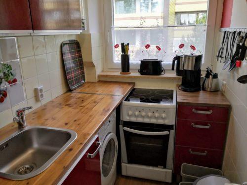 Ferienwohnung Evergreen Küche