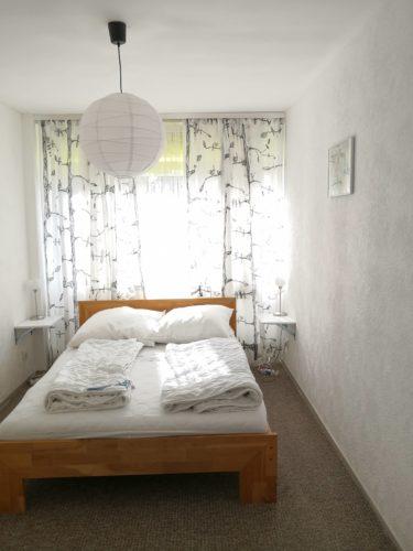 Ferienwohnung Evergreen Schlafzimmer 1