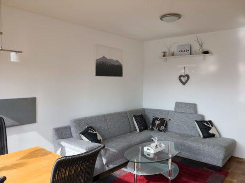 Ferienwohnung Evergreen Wohnzimmer & Essbereich